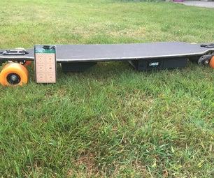 Trackable Electric Longboard