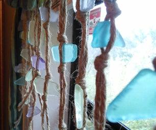Simple Sea Glass Curtain