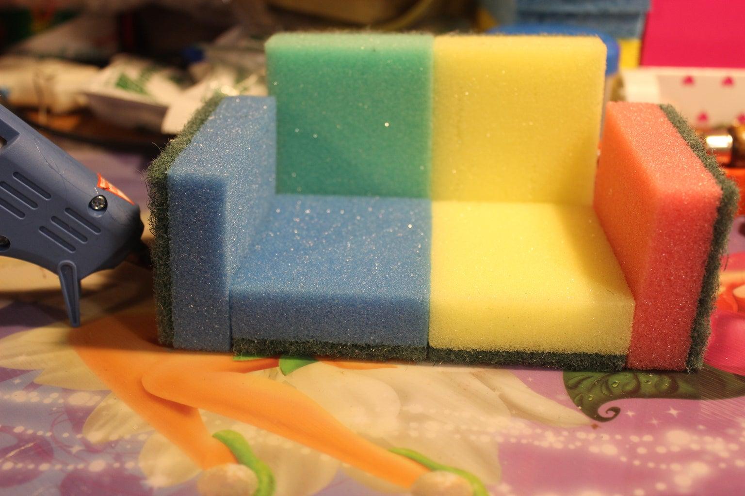 Glue the Sponges