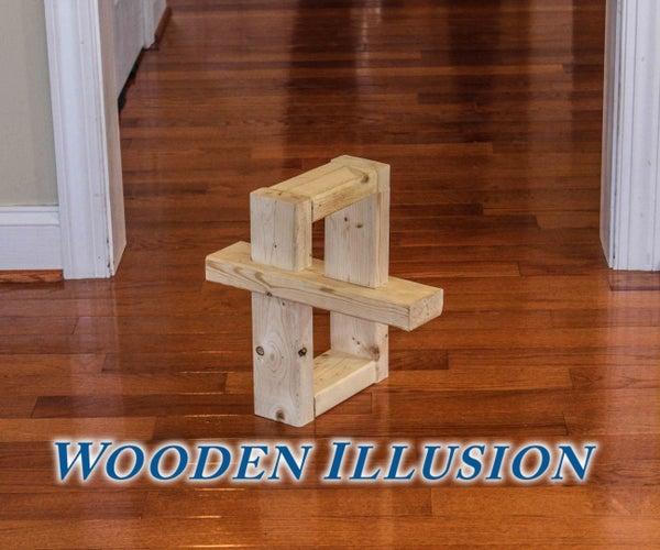 Wooden Illusion