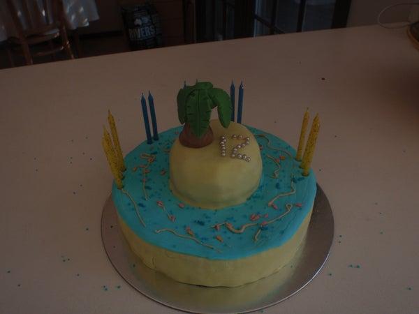 The Ocean Cake