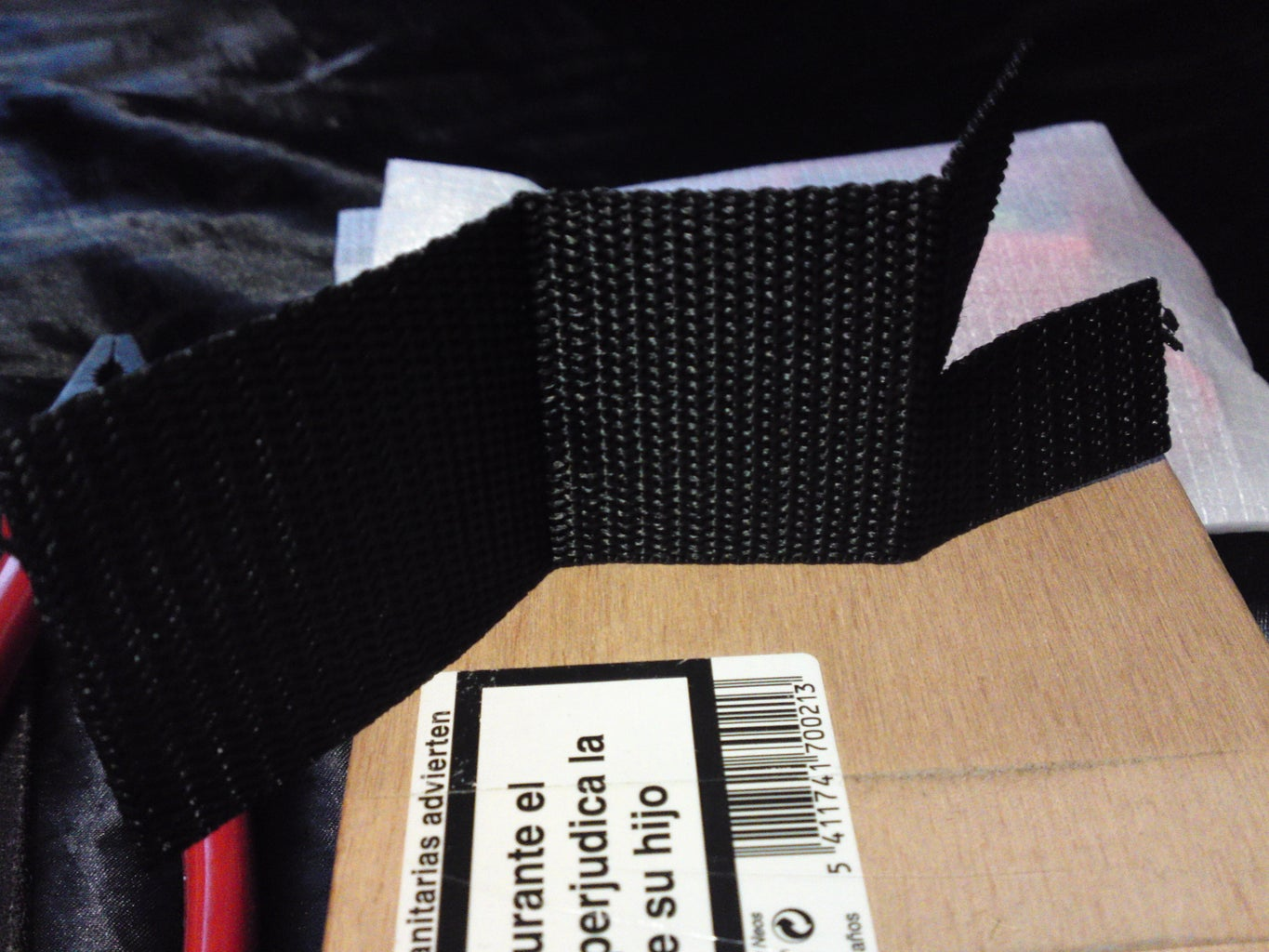 Now the Final Part - Tophalves of the Weight Bearing Webbing Section & Lower 'Loops'