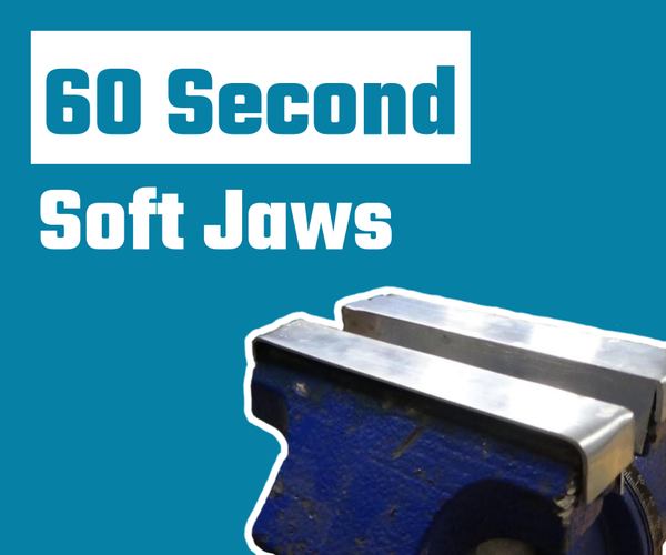 How to Make DIY Soft Jaws in 60 Seconds!
