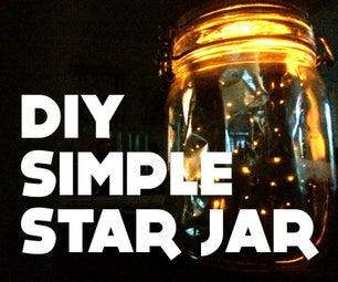 Simple Star Jar