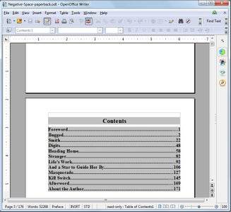 Create the Paperback Document