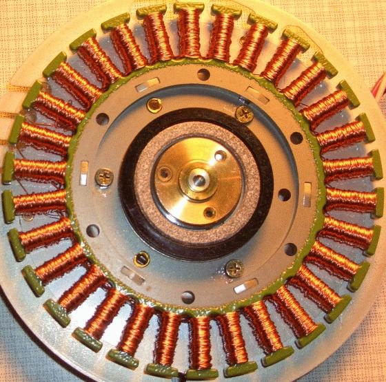 Building a POV, Propeller Clock motor