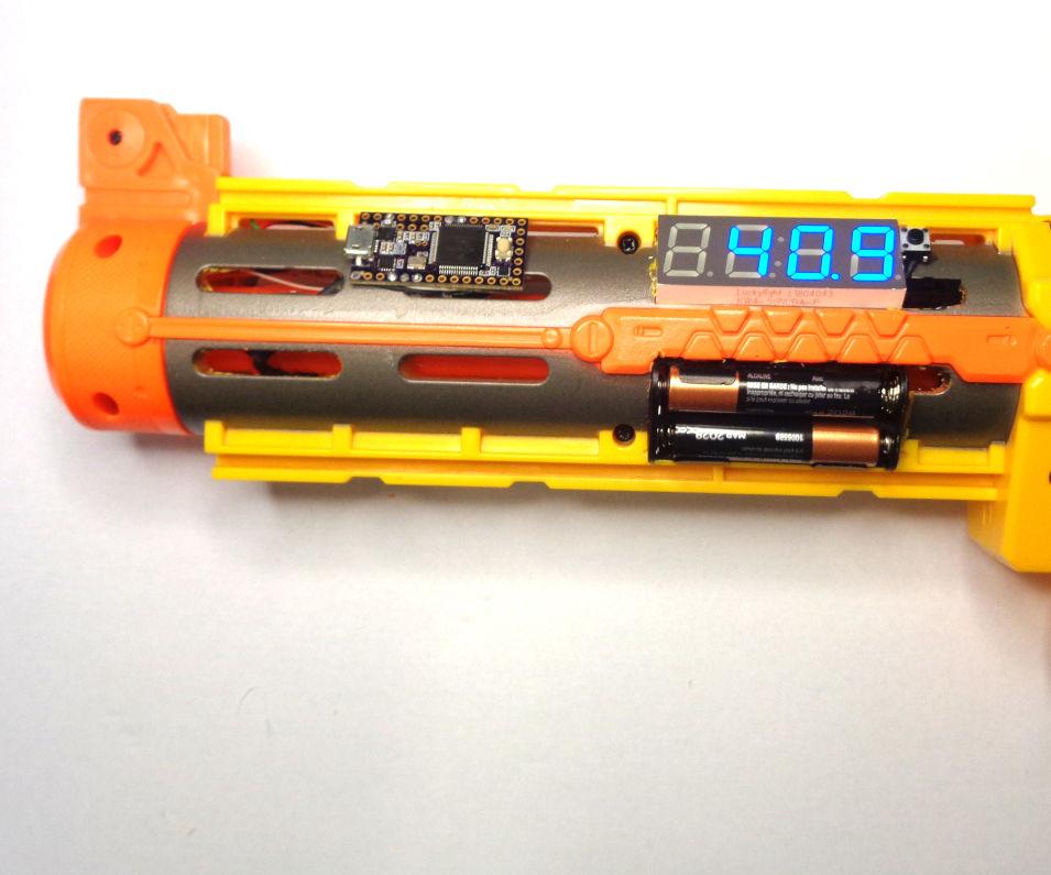 Arduino for Nerf:  Ballistic Chronograph