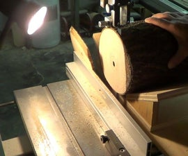 Bandsaw Sled to Cut Slices