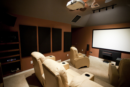How to Make a DIY Home Theater