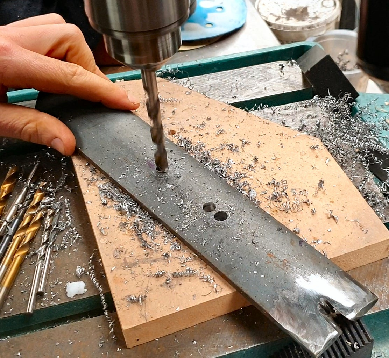 Green Sand Muller #6 - Making the Ploughs