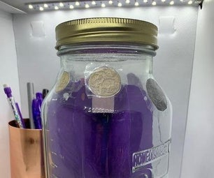 Coin-Sorting Money Jar