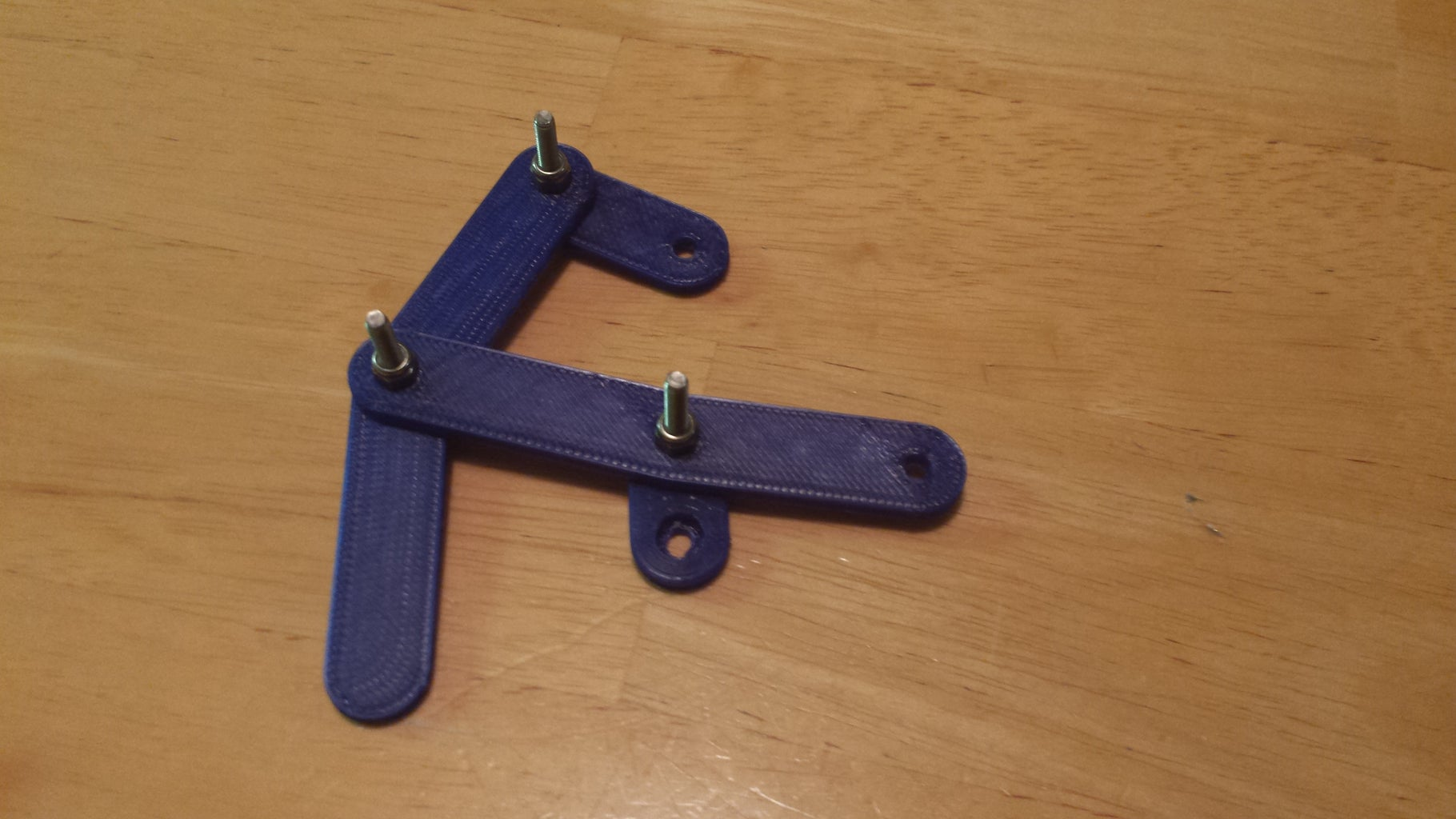 Linkage Assembly: Top and Bottom Rockers