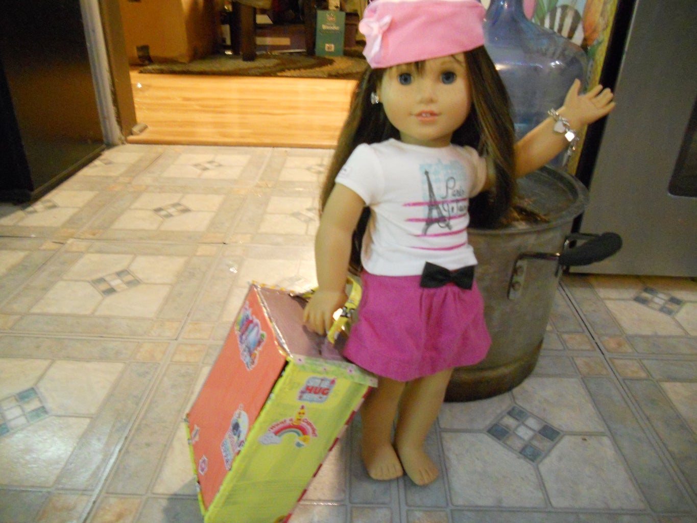 How to Make a Suitcase for Toys!