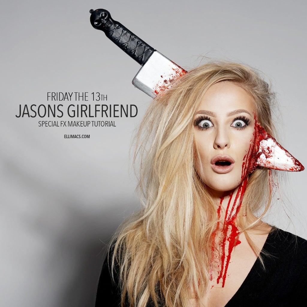 Friday the 13th - Jasons Girlfriend - SFX Makeup Tutorial
