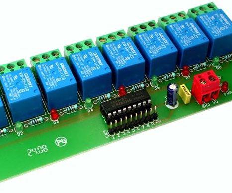 8-Channel Relay interface board