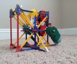 Hof- the Tiny Knex Ball Machine