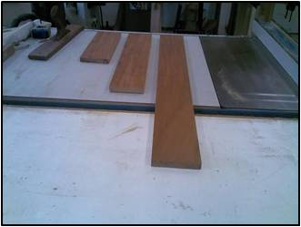 Stock Prep for the Drawer Fronts, Sides & Backs