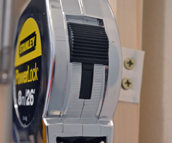 Measuring tape holder