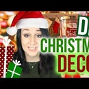DIY Christmas + Holiday Room Decor 2015!