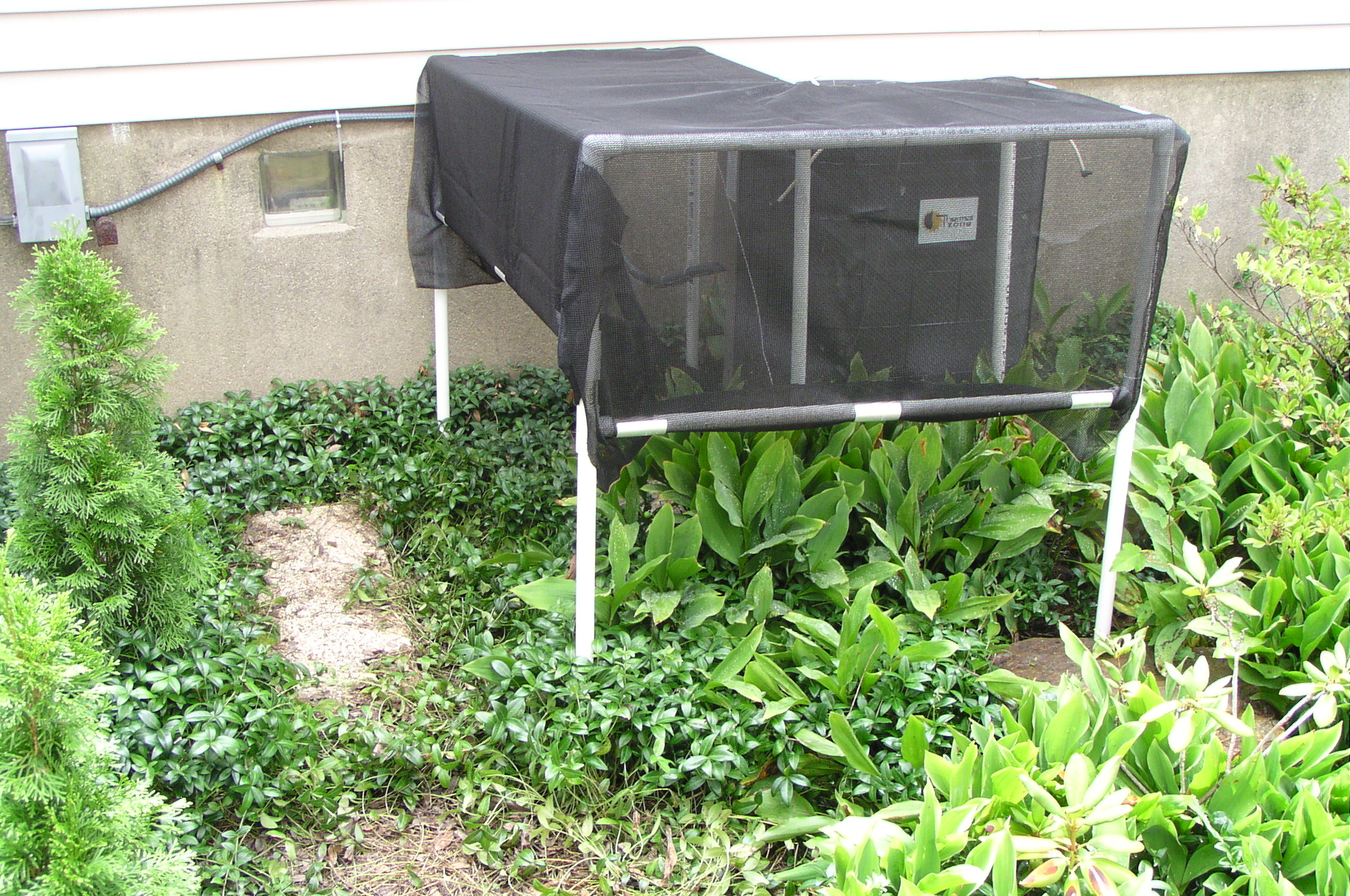 Shade Screen for Air Conditioner Condenser