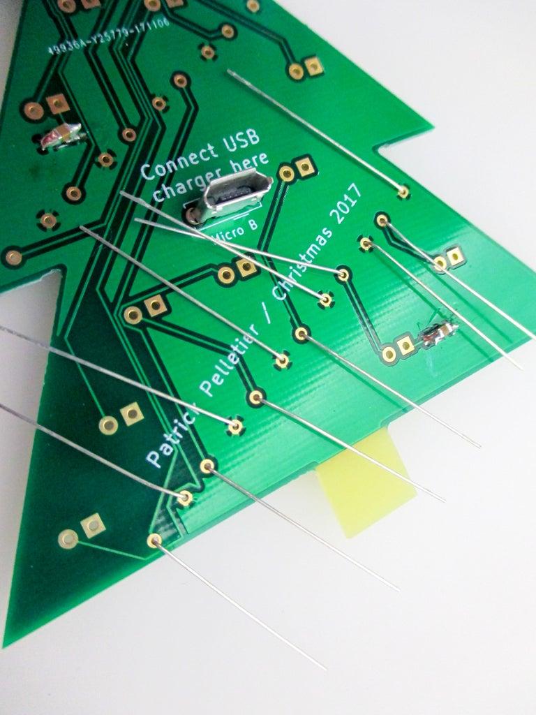 Insert the Resistors