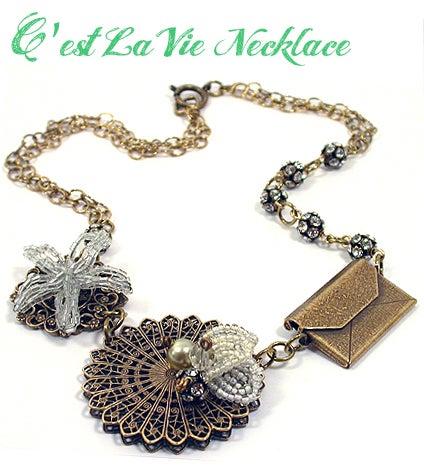 C'est La Vie Necklace
