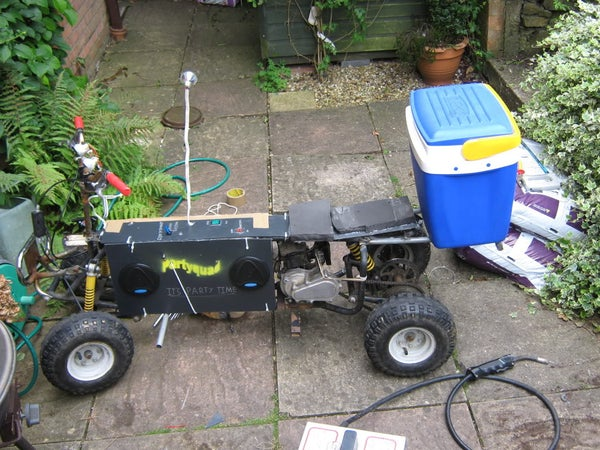 Build Your Own Partyquad (party-ATV)