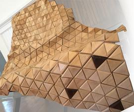 Wooden Bear Skin Rug - Moves Like Real Cloth!