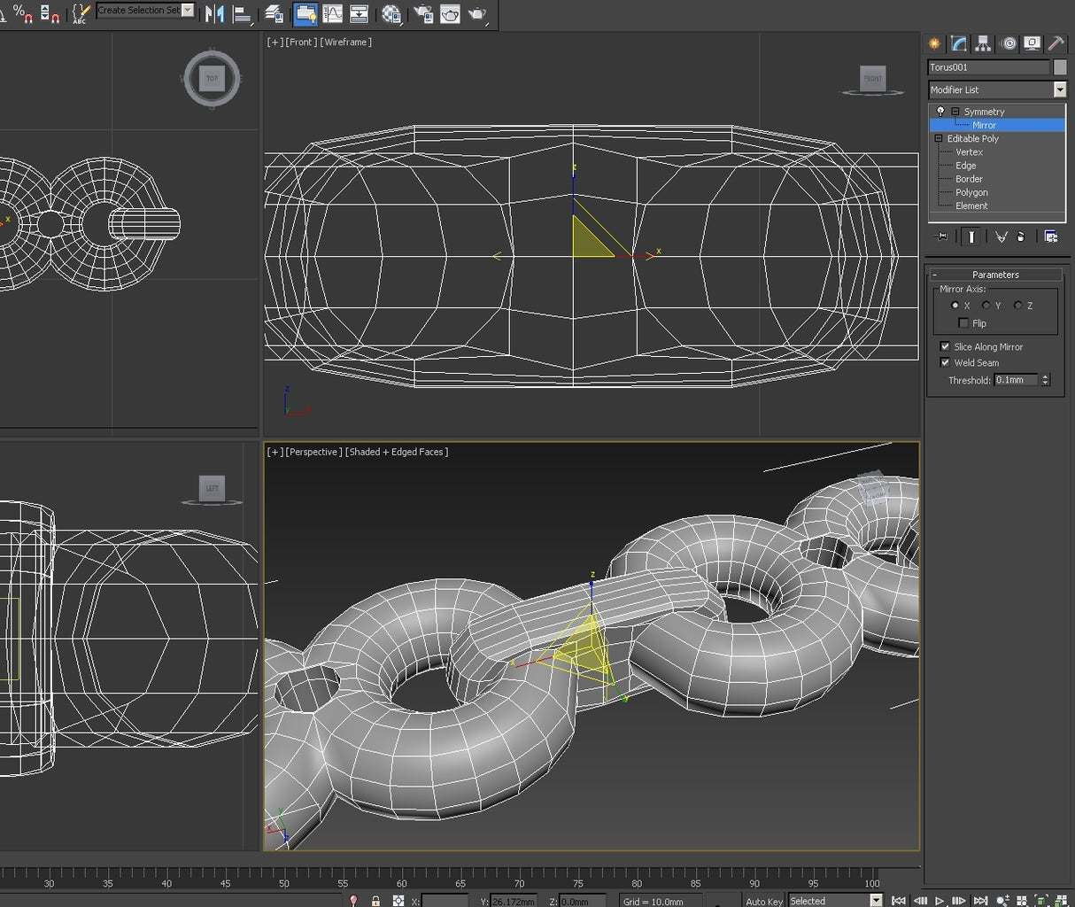 3d Modeling: Creating the Basic Pattern - Shapes & Symmetry II