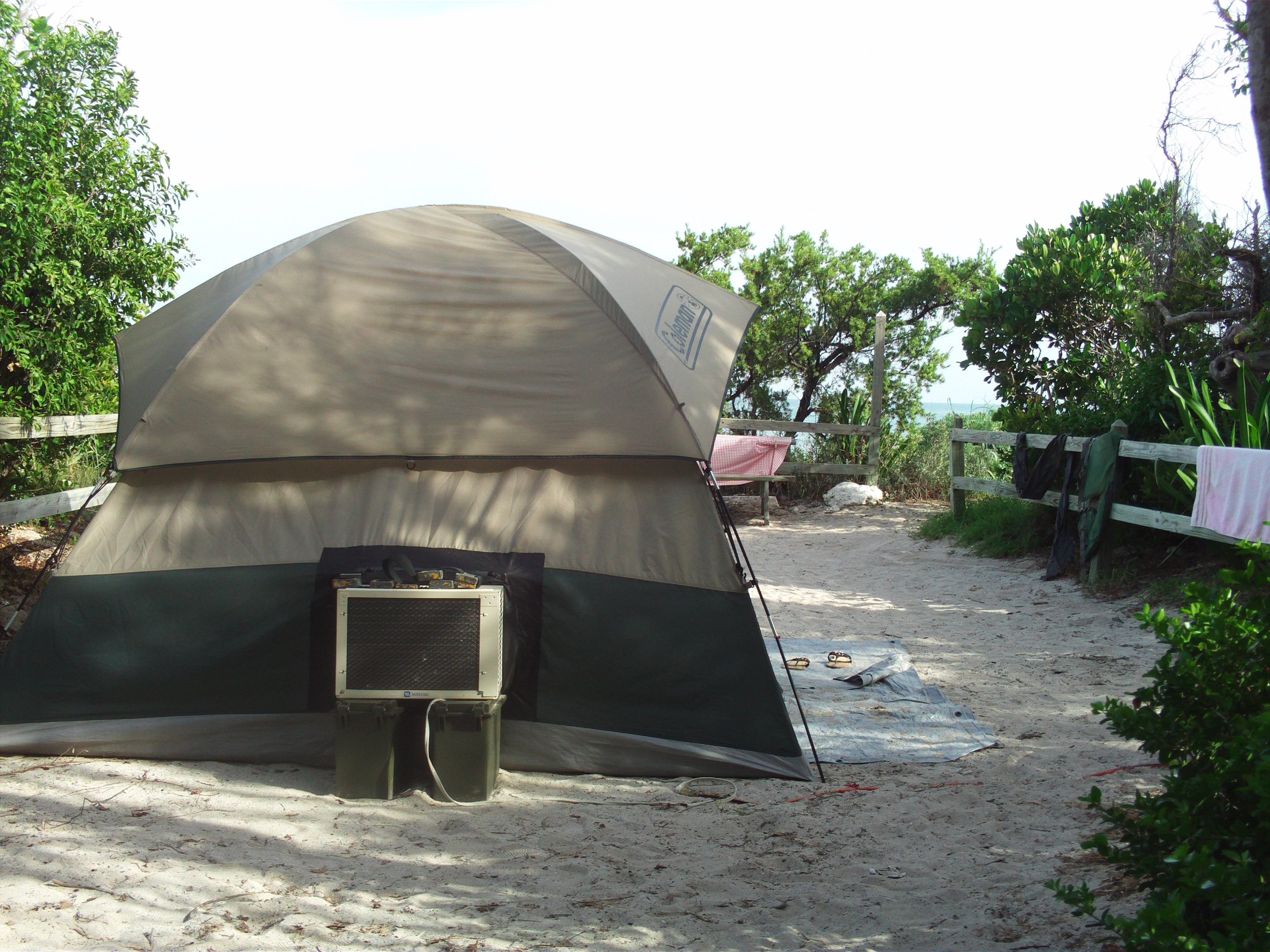 Air Conditoned Tent for those hot months
