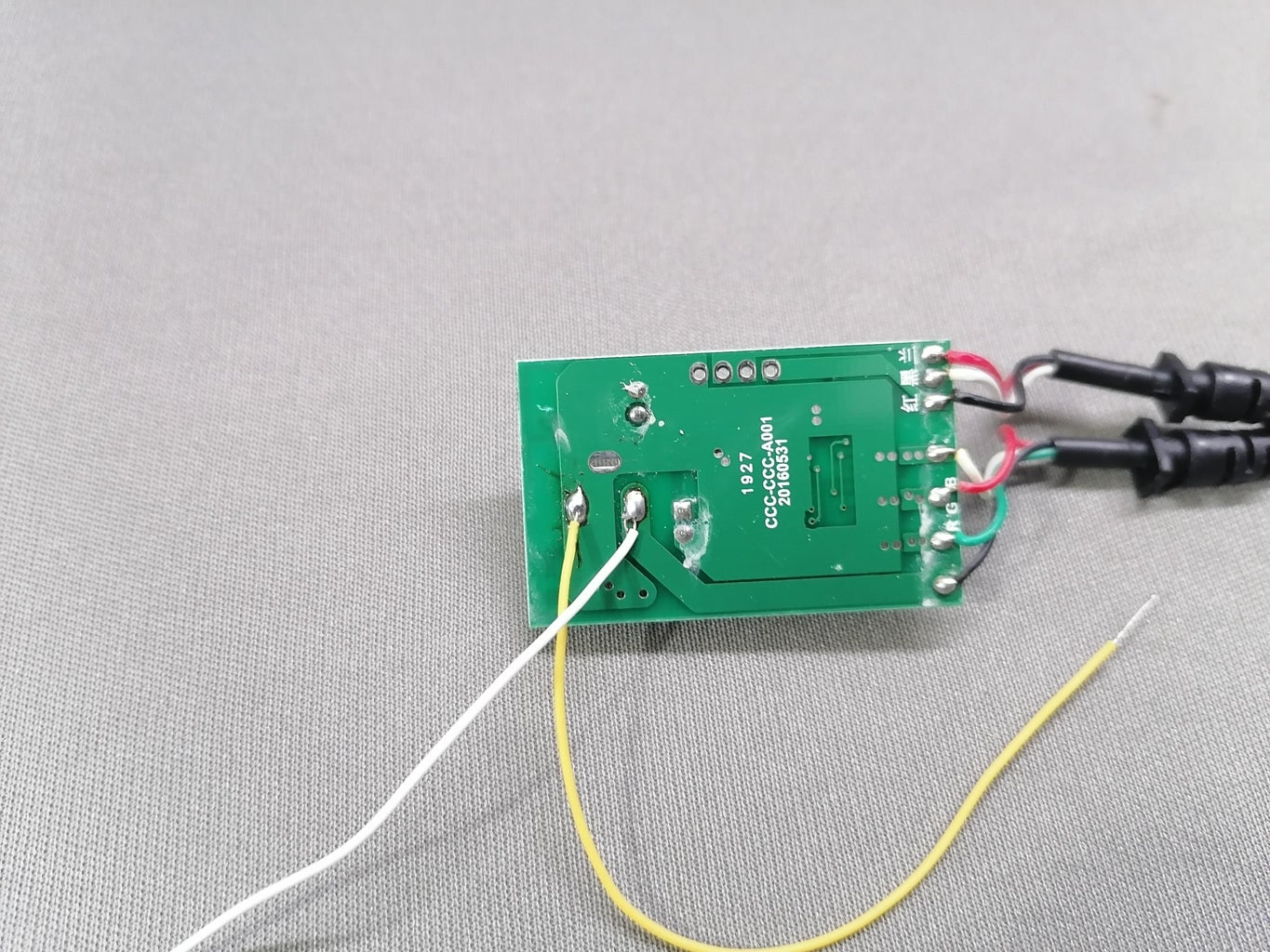 Remove DC Jack From Circuit of LED Controller Circuit