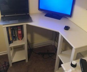 紧凑型角桌子