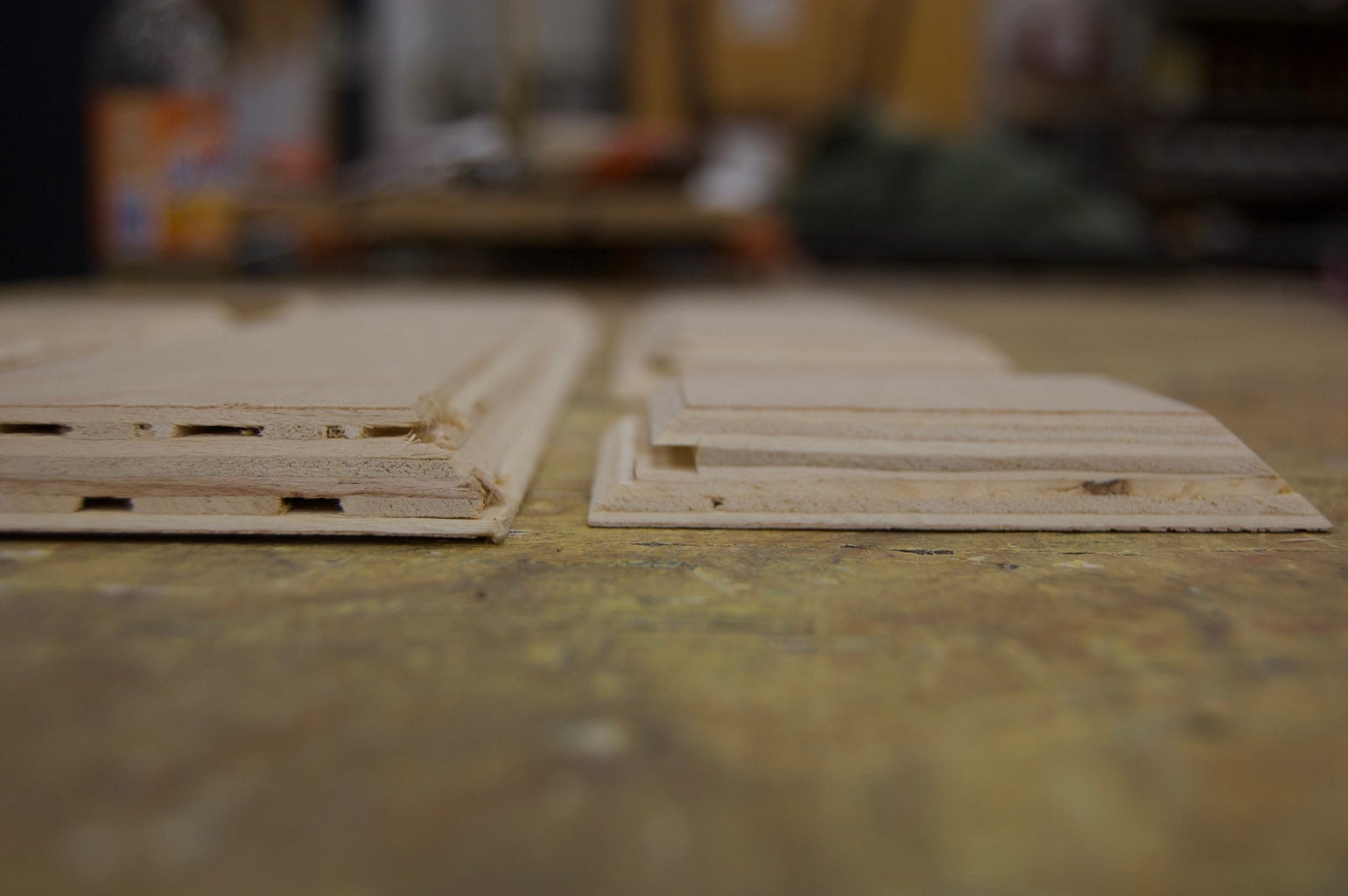Cut Grooves for Lid and Internal Supports