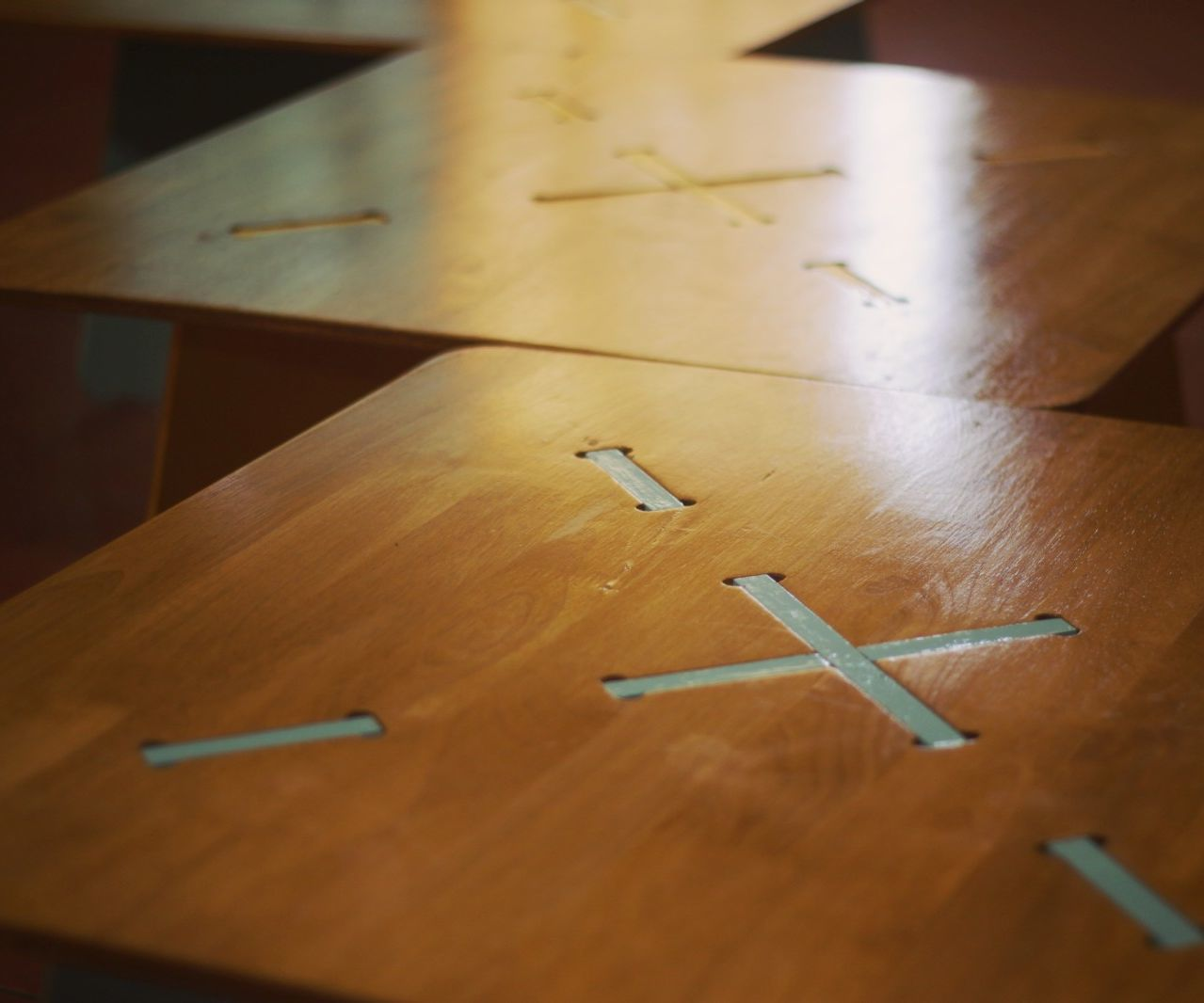 CNC Milled Low Table