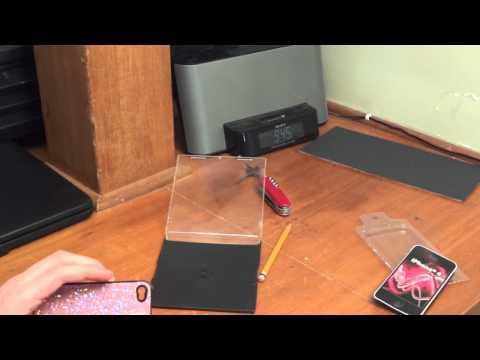 5 Dollar Portable Teleprompter - PORTAPROMPTER!!!