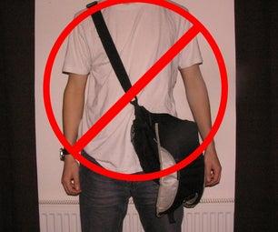 (Pocket Sized) Messenger Bag Anti-slide Strap
