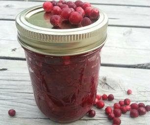 Spicy Wild Cranberry Chutney