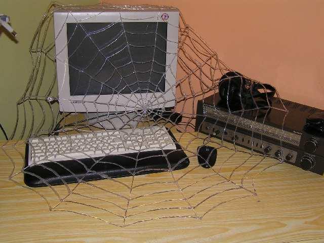 "Halloween Project ""Cobweb"""