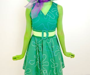 DIY Disgust Costume! - Inside Out