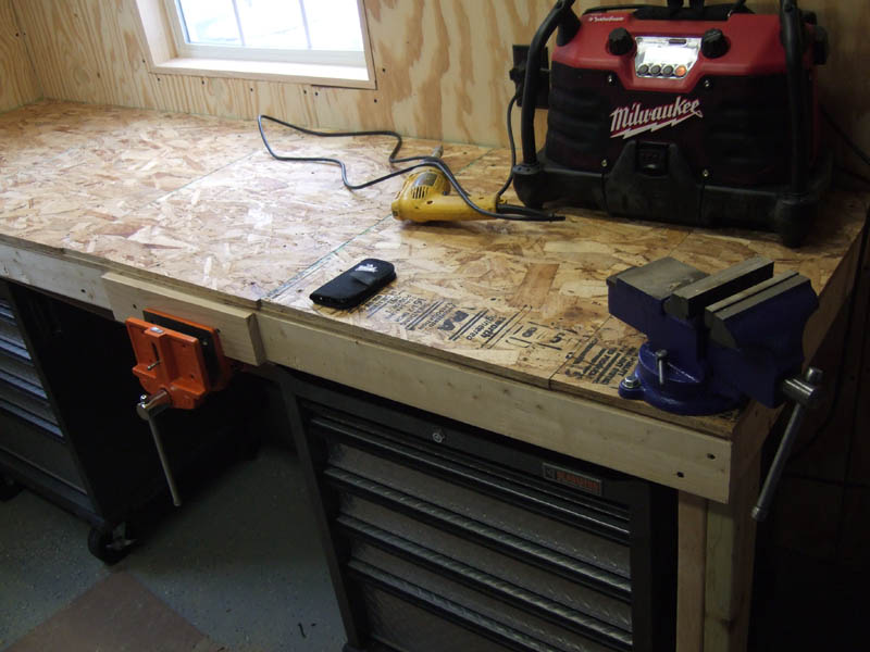 Low cost tank-tough workbench