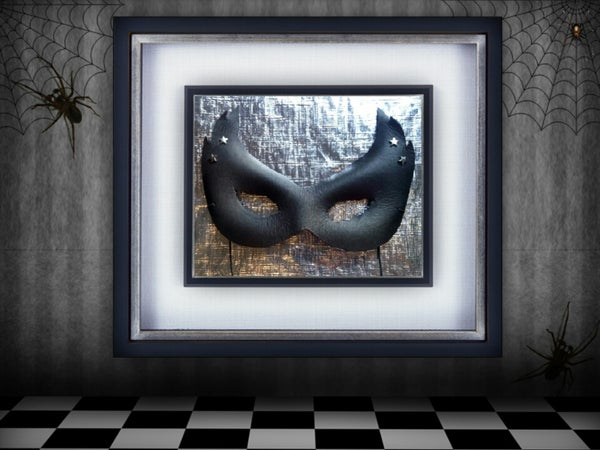 Genuine Leather Mask