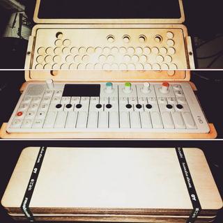 Wooden OP-1 Case