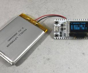Heltech WiFi Kit 32 Based Network Scanner