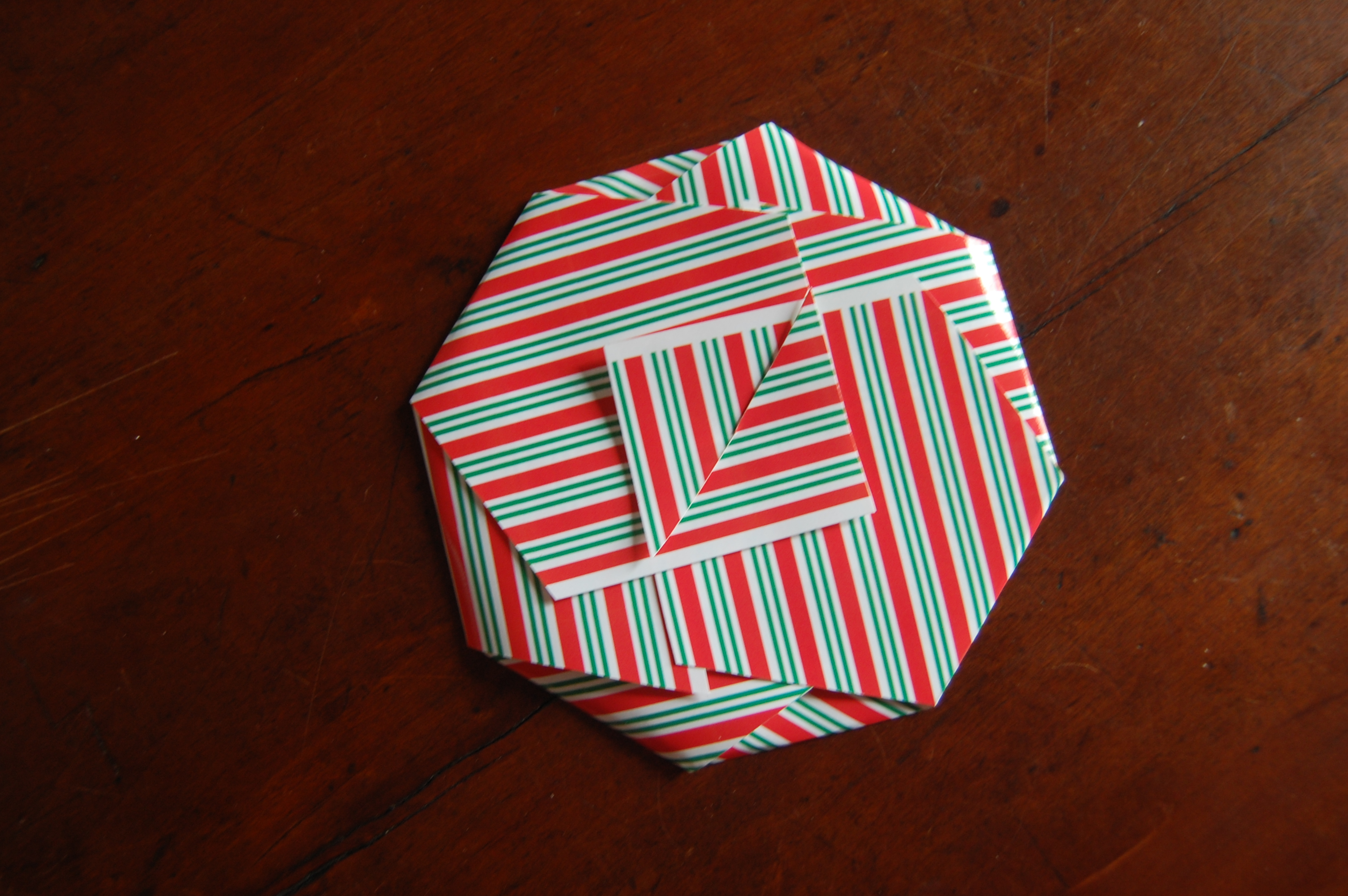 Customize this simple paper CD cover