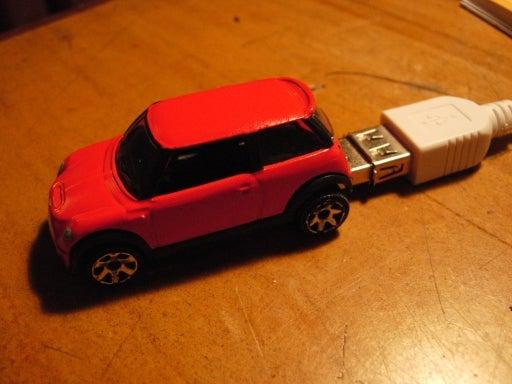 1 Gig Flash Drive Mini Cooper