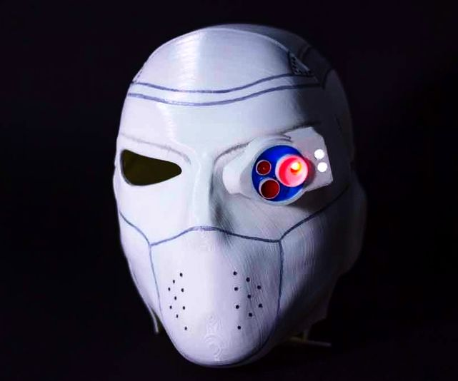 How to make Deadshot Mask from Suicide Squad