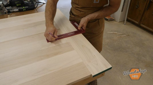 Attach Breadboards to Table Top