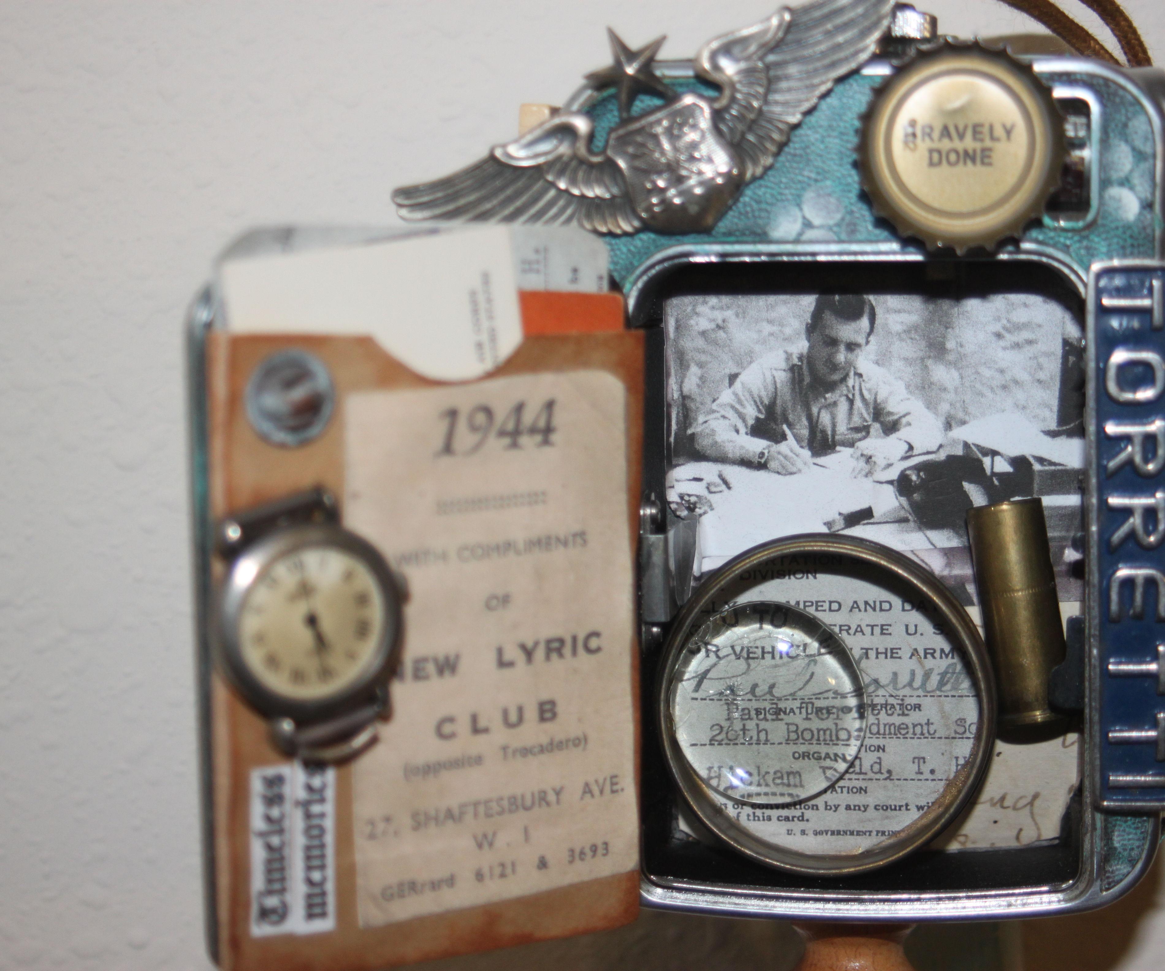 Repurposed Memory Box
