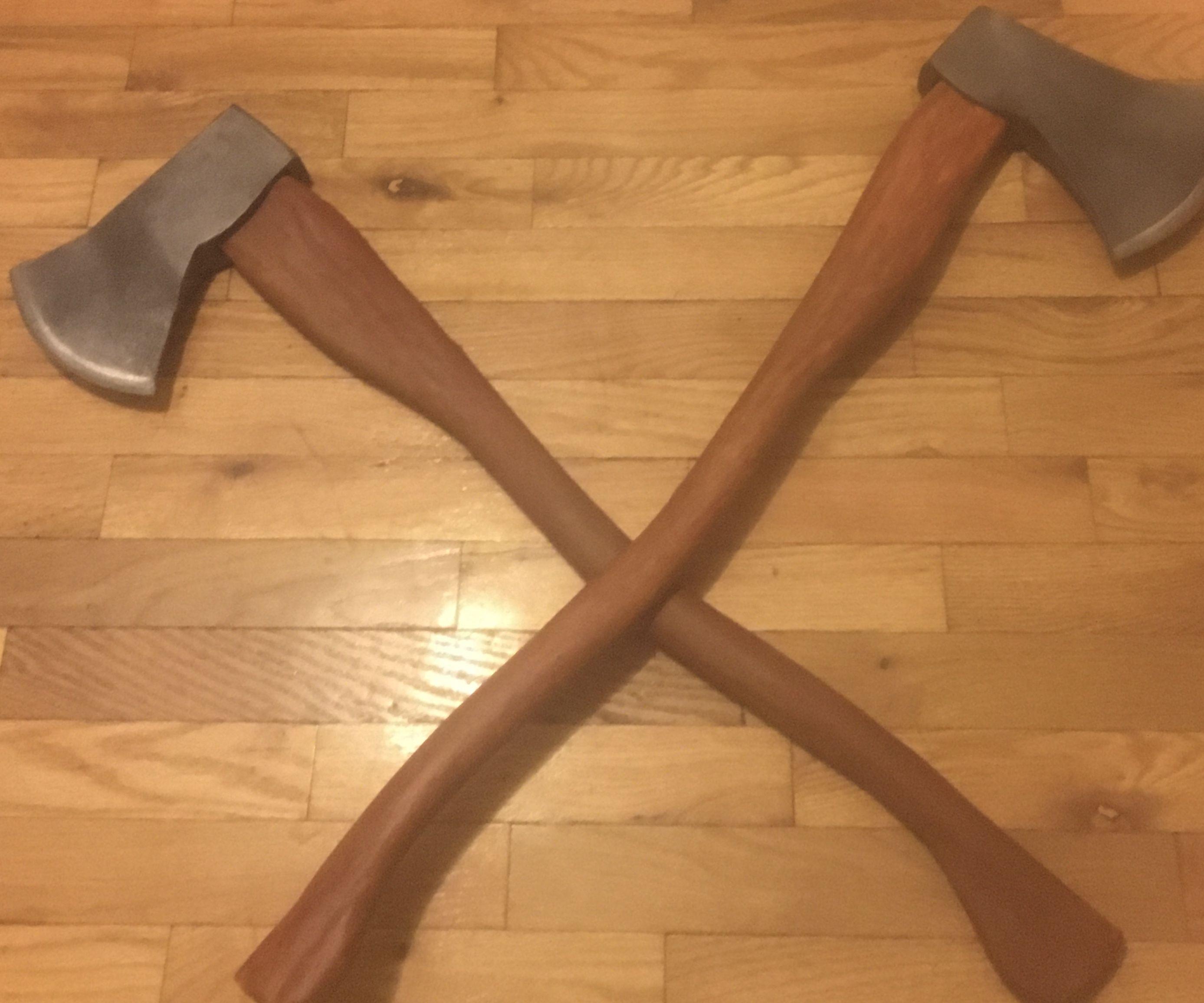 How to Make a Prop Axe