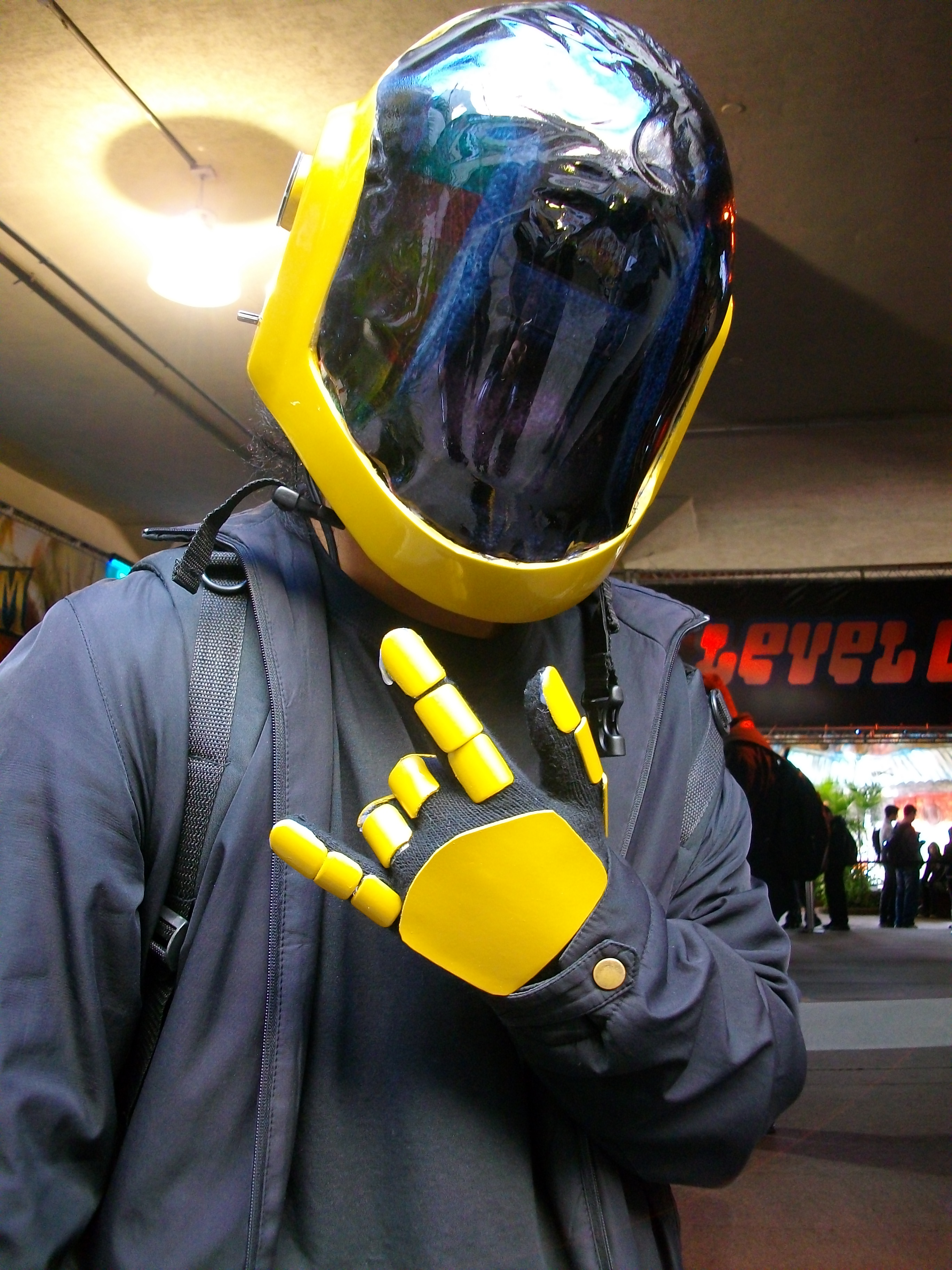 How to make a cosplay helmet!